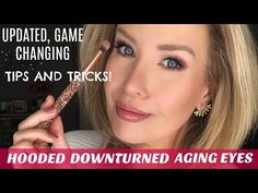 HOODED, DOWNTURNED OR AGING EYES? NEW TECHNIQUE MOST YOUTUBERS DON'T SHOW! - YouTube