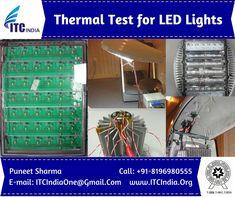 Thermal Testing for LED Lights