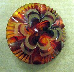 Vintage Bakelite Button