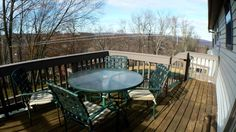 Enjoy your favorite beverage while sitting on your deck with views of the horizon