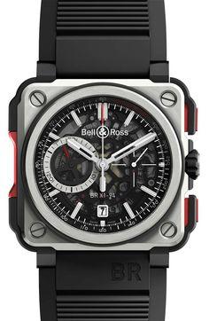 Bell & Ross: BR X1 Skeleton Chronograph | Das Uhren Portal: Watchtime.net