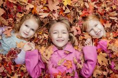cute fall idea for pic of kids