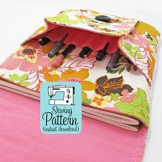 Idea Pouch PDF Sewing Pattern iPad Case PDF por michellepatterns