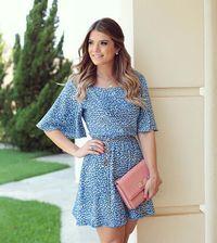 """{Blue} Vestido @averarafashion Que tal essa oncinha azul?! Eu amei  • #lancamentoaverara #altoverao #blogtrendalert"""