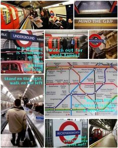 A Tourist's Guide to the London Underground