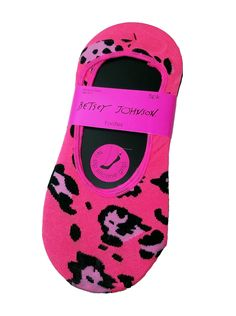 Betsey Johnson 5pk Footies #stellasaksa #betseyjohnson #footies #socks #pink #black