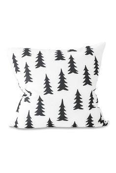 Fine Little Day Gran Cushion Cover - Black & White - The Modern Nursery