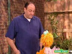 Sesame Street: James Gandolfini Talks About Feeling Scared - YouTube