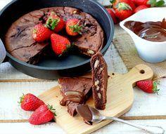 Brownie en sartén