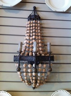 pair of beaded sconce at Mulberry Heights Antiques