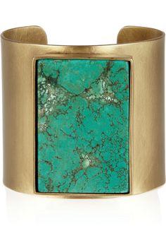 Turquoise cuff, Kelly Wearstler