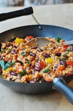 Jáhly po Toskánsku Fall Dinner Recipes, Lunch Recipes, Real Food Recipes, Vegetarian Recipes, Cooking Recipes, Healthy Recipes, Comfort Food, Vegetable Recipes, A Food