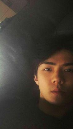 Sehun being handsome as usual😪❤️ Kyungsoo, Park Chanyeol, Baby Boy Art, New Baby Boys, Baby Baby, Kris Wu, K Pop, Types Of Boyfriends, Exo Lockscreen