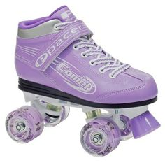 Roller Derby Skate Girls Comet Lites Skates $129.00  LIGHTED WHEELS make this skate truly Exciting and Fun. It's a Fantastic Skate with all the benefits of Comfort, Speed, Grip but skating with Lighted Wheels makes skating a whole NEW Experience! All your friends will follow your lead in this unique skate.