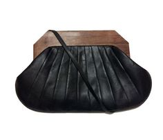 Origami Clutch-black by Mel Vintage