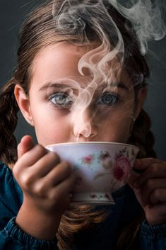 teatime Dark Portrait, Tea Time, Portrait Photography, Around The Worlds, Rings For Men, Fine Art, Drawings, Face, Portraits