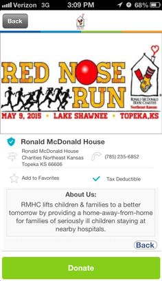 Ronald McDonald House Charities Northeast Kansas in Topeka, KS #GivelifyNonprofits