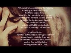 7/12/10 From YahuShua HaMashiach, Jesus The Christ, Our Lord and Savior - A Letter Given to Timothy, For All Those Who Have Ears to Hear    ~ http://trumpetcallofgodonline.com/index.php5?title=Captive_Children