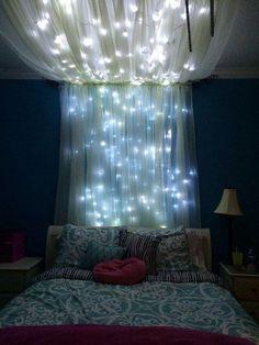 Quién dijo que las luces son exclusivas de la Navidad.