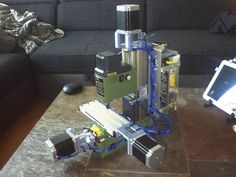Proxxon MF 70 CnC motor mounts by bitwise - Thingiverse Arduino Cnc, Cnc Router, Maker Shop, Diy Cnc, Metal Working Tools, Cnc Projects, Man Cave Garage, Cnc Machine, Dremel