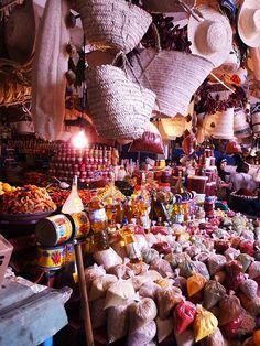 Marché aux épices, Nabeul, Tunisie