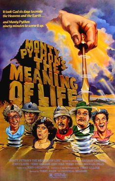 The Meaning of Life-Graham Chapman, John Cleese