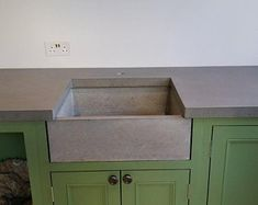 Freestanding Kitchen Sink Cupboard | Etsy Kitchen Sink Units, Belfast Sink, Freestanding Kitchen, Cupboard, Slate, Storage, Etsy, Design, Home Decor