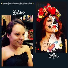 "Custom Creepy Creations and Extreme Body Art by Luna Designs Studio ""Let Luna Create a Beautiful Work of Art For You or On You"" #LoveMyLuna"