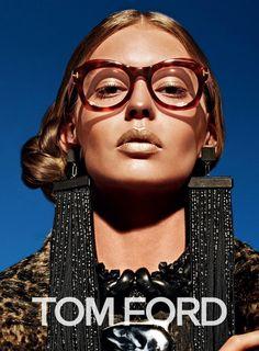 Tom Ford encumbra a Ondria Hardin como la única modelo de su campaña Otoño-Invierno 2015/2016