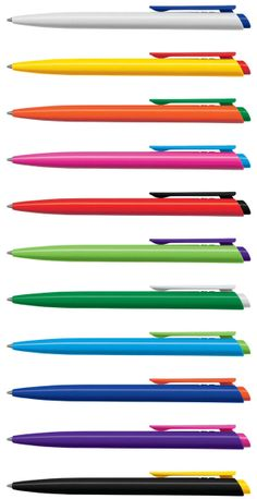 Target Mix 'n Match pen (PT898684) Retractable plastic ball pen. Can be mixed and matched in 49 colour combinations. Choose the colour of the barrel, the clip/plunger and the writing ink (blue or black), and we'll imprint your branded promotional pen in full colour. For an instant online quotation - http://www.pensonline.nz/product/pt898684/