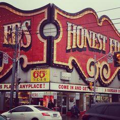 Honest Ed's Department Store in Toronto.