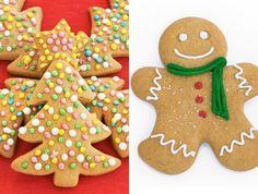 Un monton de ideas para navidad. Galletas de mantequilla como adornos de Navidad Gingerbread Cookies, Christmas Cookies, Christmas Time, Xmas, Good Enough To Eat, Muffins, Sweets, Empanadas, Recipes