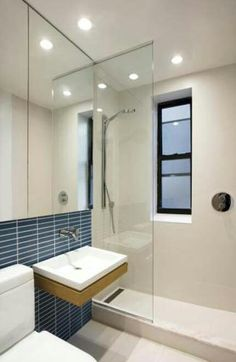 Small shower bathroom.