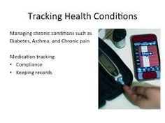 New innovative technology used to monitor an individuals  health digitally via mobile devices.