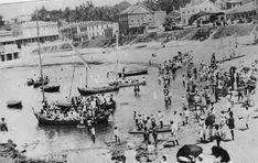 Bairro do Rio Vermelho no final do século XIX. Foto: Arquivo A Tarde;