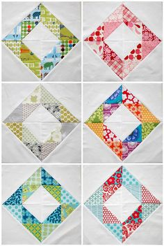 scrappy diamonds quilt blocks