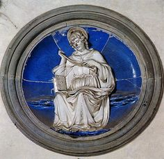 Luca della Robbia - San Tommaso, 1465-1470. Firenze, Santa Croce, Cappella Pazzi