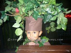 Cutest Homemade Tree Costume ...This website is the Pinterest of Halloween costumes for kids