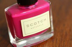 Scotch Naturals Tartan Swizzle Bottle
