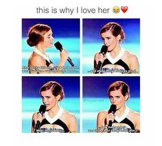 i have never watched harry potter but i am a Emma watsan fan She is so cute:)>>>>>you're an Emma Watson fan huh? It's funny that you can't spell her name right Mundo Harry Potter, Harry Potter Puns, Harry Potter Cast, Harry Potter World, Hogwarts, Drarry, Dramione, Movies Quotes, Jenifer Lawrence