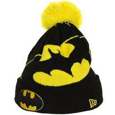 New Era Hero Over Logo Beanie Batman - entdeckt im Harlem Streetwear Shop! 4159e85bf8a