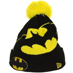 New Era Hero Over Logo Beanie Batman ★★★★★