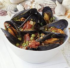 Indian-Spiced Steamed Mussels #Recipes :)...