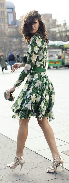 floral street style ♥✤ | KeepSmiling | BeStayClassy
