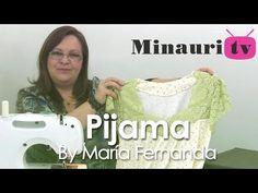 DIY - Bata para dormir - nightgown - camisola - camicia da notte - YouTube