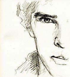 Sherlock Sketch by benbenny. | Drawing | Pinterest