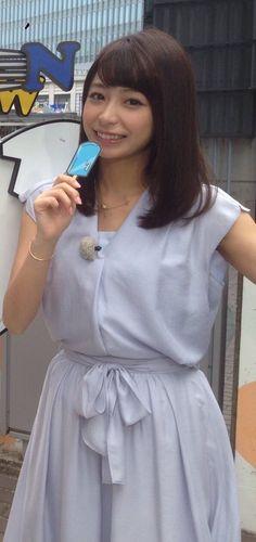 宇垣美里アナ Cute Japanese Girl, Japanese Models, Skirt Fashion, Spring Summer, Kawaii, Shirt Dress, Summer Dresses, Female, Lady