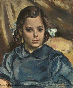 Othon Friesz (1879-1949) : Portrait of Karin,© ADAGP, Paris © RMN-Grand Palais…
