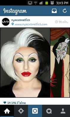 Cruella costume d'halloween
