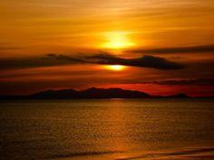 Arran Sunset by Derek Beattie